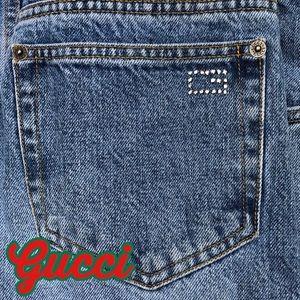 Gucci Vintage Mid Rise Jeans EUC Sz IT 40